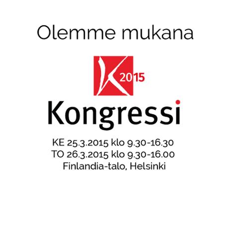 Mukana Kongressi2015 -tapahtumassa