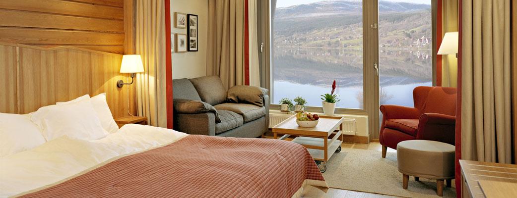В наших гостиничных номерах нашлось место не только для двуспальной кровати и дивана-кровати, но и для телевизора с игровой приставкой Playstation 3. На диване могут спать двое детей или один взрослый.