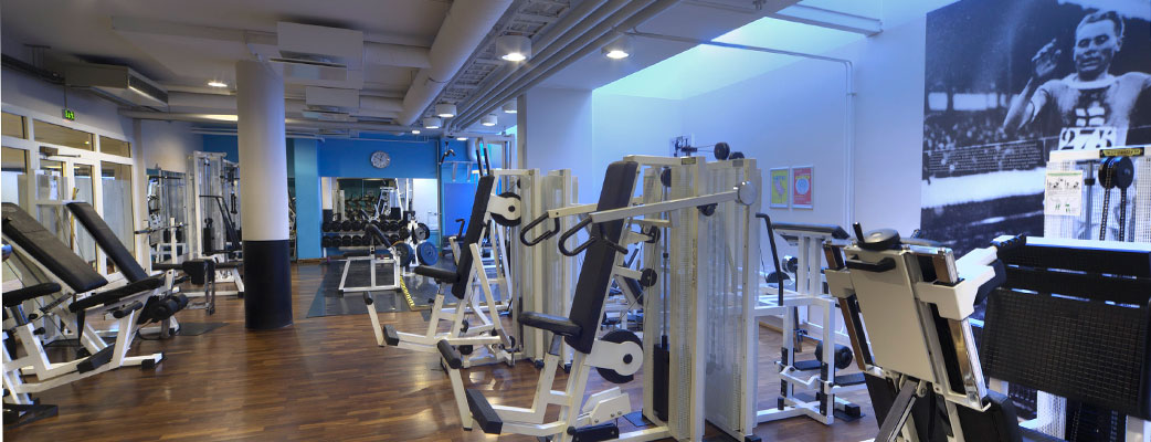 You can do your workout conveniently at Caribia's own gym.