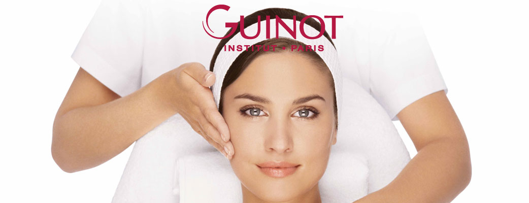 Book a new Guinot facial treatment.
