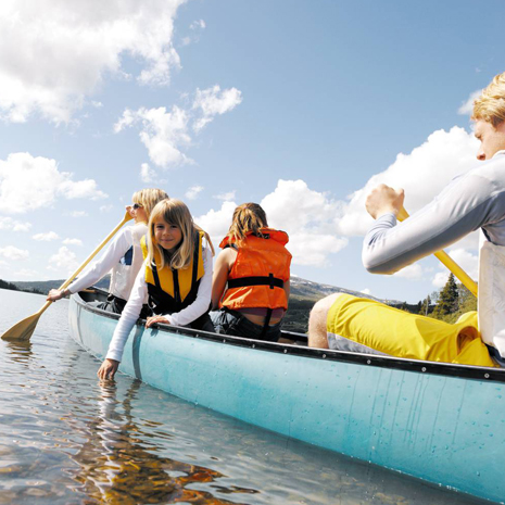 Canoeing, rafting, fishing and ATV tours