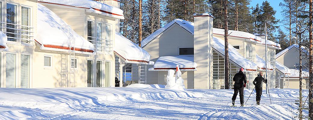 В Kuusamon Tropiikki трассы для равнинных лыж начинаются прямо возле Ваших апартаментов.