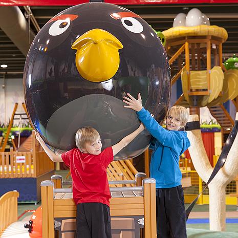 Angry Birds -loma Saimaalla on lapsiperheiden suosikki