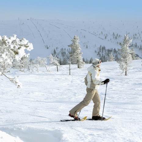 Lumikenkä- ja sauvakävelyretket
