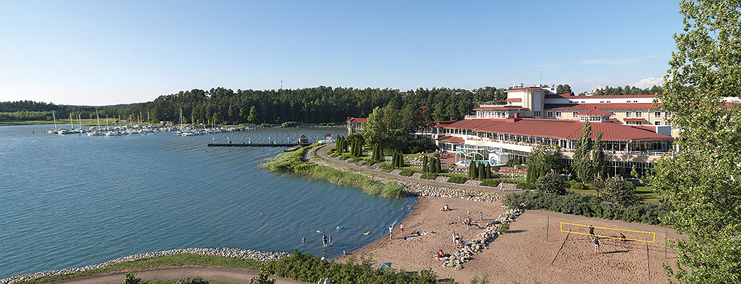 Naantali Spa is a versatile holiday resort. The Holiday Club Naantali Residence holiday homes are located in a separate building in the spa area.