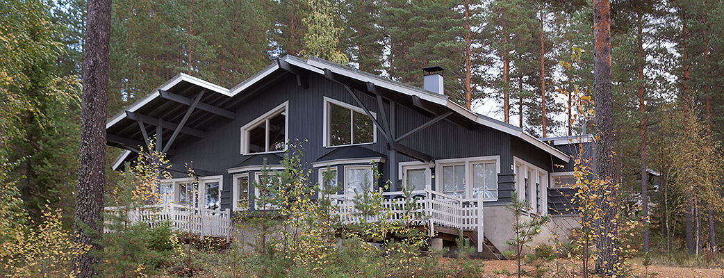 Kodikkaasti sisustetussa Holiday Club Punkaharjun loma-asunnossa lomailet mukavasti, keskellä luontoa.