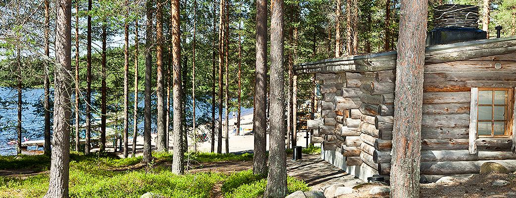 Holiday Club Pyhäniemi ligger på ståtlig tallmoterräng, vid stranden av den rena Kankarinjärvi i Kihniö, norra Tavastland.