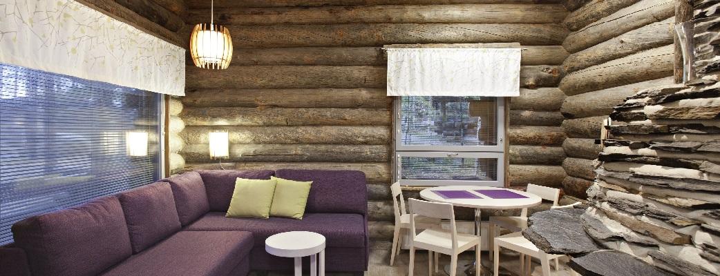 Pyhäniemi – отличное место для отдыха. Каждому приехавшему будет уютно в коттеджах сочетающих в себе натуральные материалы и современную технику.