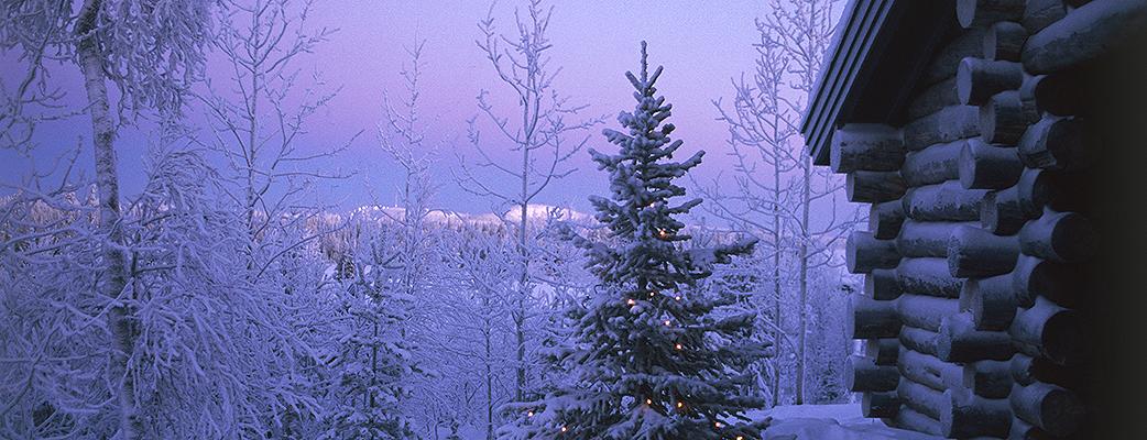 I skogens frid, inom räckhåll för backarna och tjänsteutbudet – Holiday Club Ruka.
