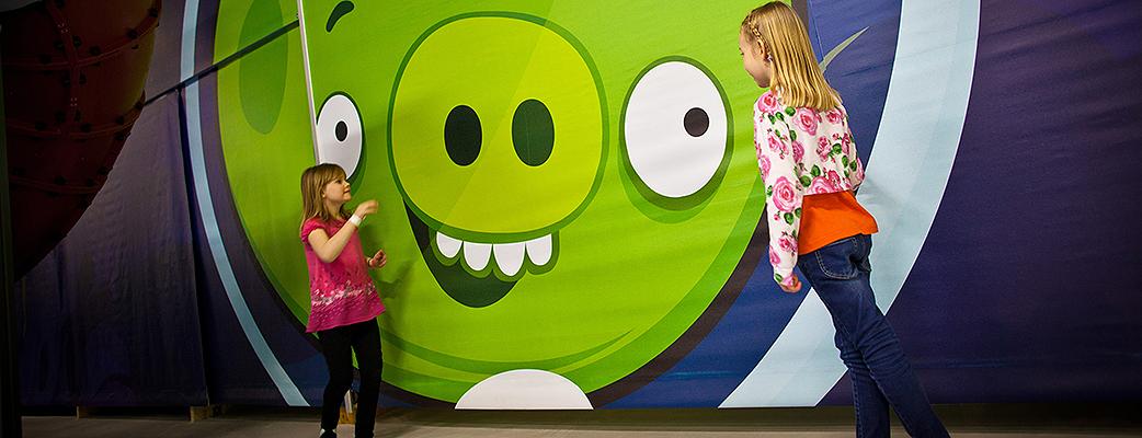 Maailman pohjoisin Angry Birds Activity Park sijaitsee Saariselällä.