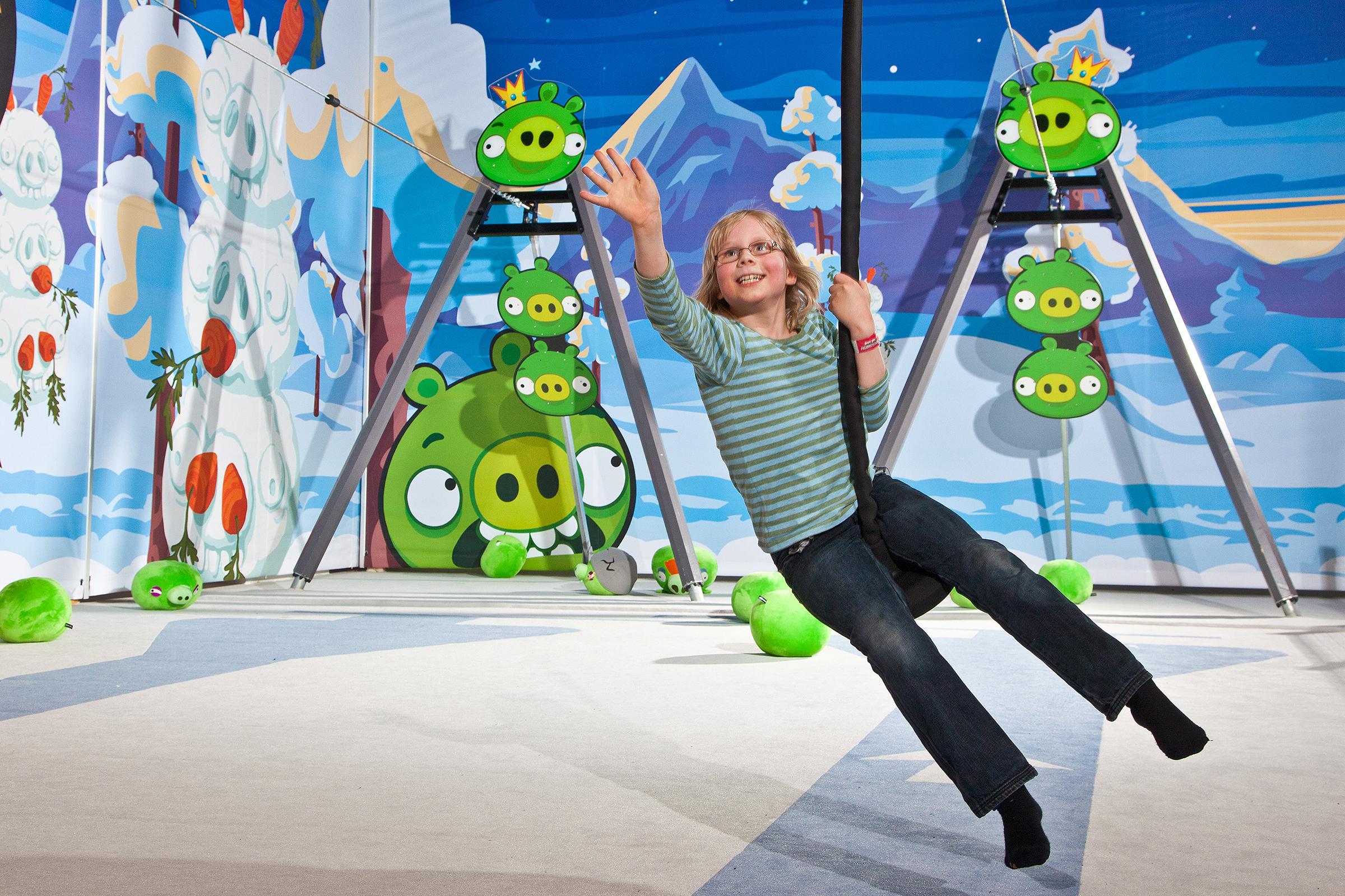 Angry Birds Saariselkä