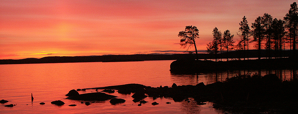 Summer in Lapland.