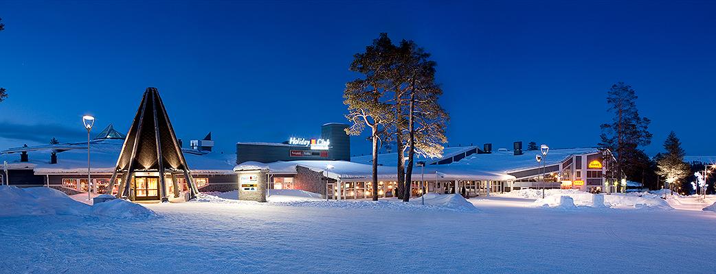 Spahotellet Holiday Club Saariselkä lockar friluftsidkare.