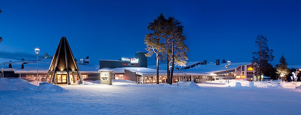 The Holiday Club Saariselkä spa hotel is a relaxing treat for the outdoor enthusiast.