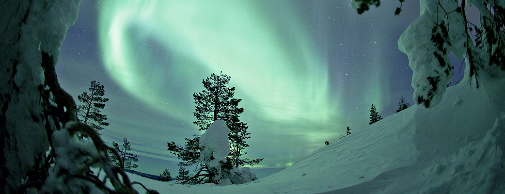 Experience a magical winter holiday in Finnish Lapland