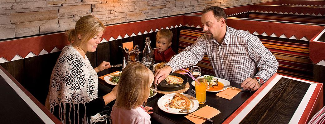 Ресторан Rakka придется по вкусу не только взрослым, но и детям.