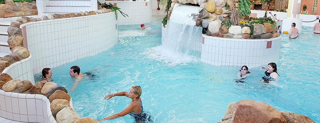 Saariselän kylpylä on sopivan kokoinen - löydät varmasti oman lempinurkkauksesi.