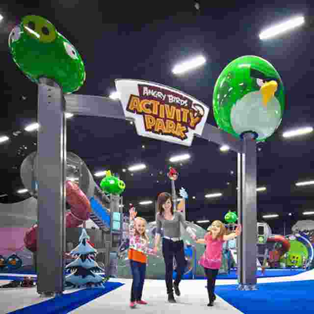 Angry Birds Activity Park для всей семьи