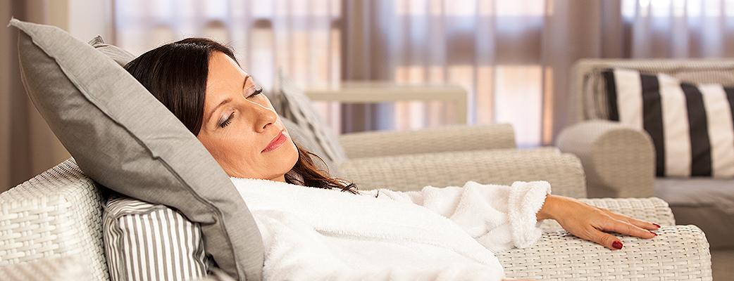 Reservera tillräckligt med tid för din spastund, att drömma sig bort på Harmony Spas vilostolar är en del av avkopplingen.
