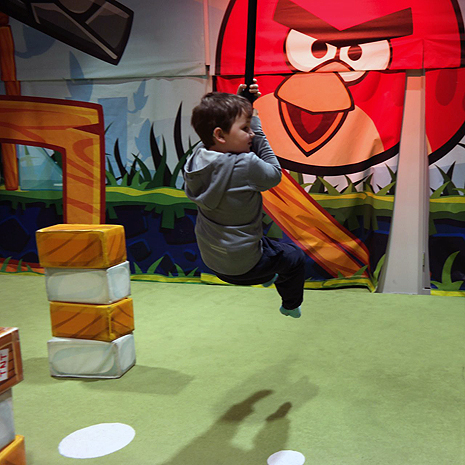 2. Angry Birds Activity Park