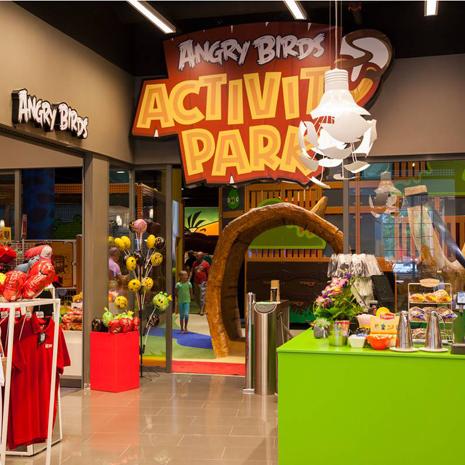 Angry Birds -synttärit alk. 25 €/hlö