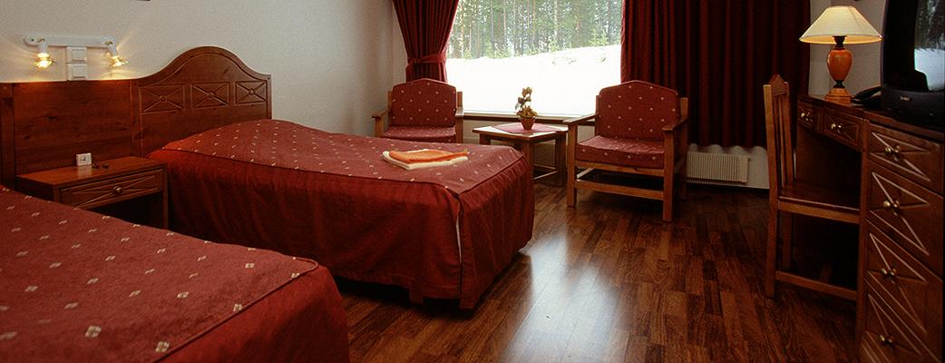 Hotel Revontuli has 26 double rooms.