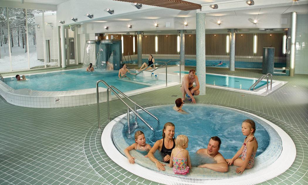 Kylpylähotelli Sallassa