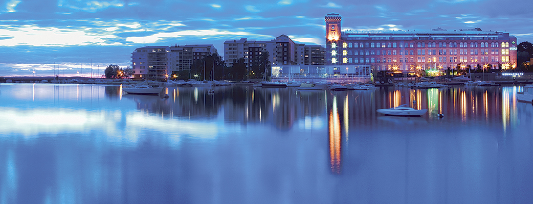 Tampereen Kylpylä is located in Lapinniemi right by Lake Näsijärvi. The city centre is only a few kilometres away.