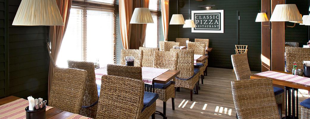 Tampereen parhaat pizzat tarjoaa idyllinen Classic Pizza Restaurant.