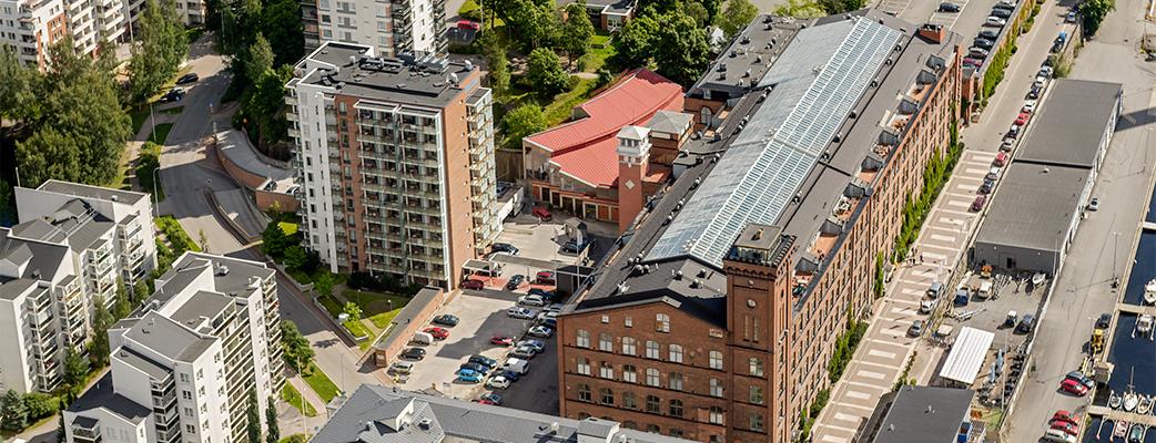 Tampereen Kylpylä – kylpylä- ja kokoushotelli keskellä kaupunkia.