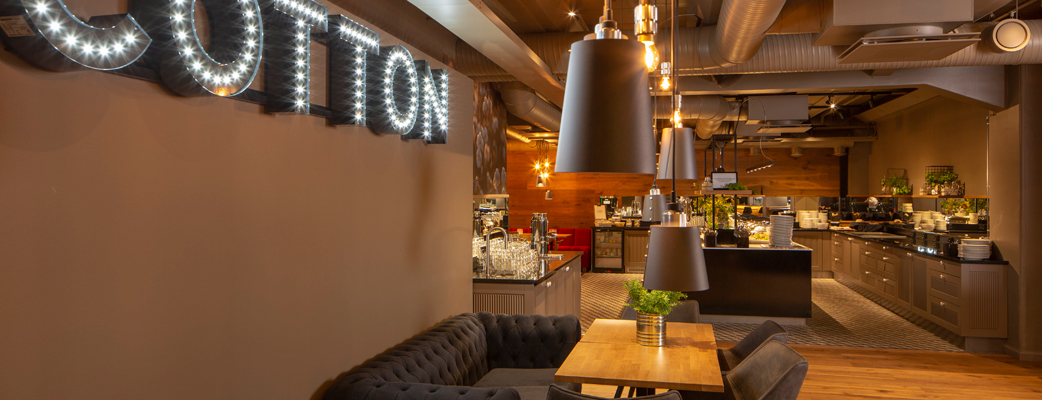 Upouusi Ravintola Cotton on avattu Tampereen Kylpylään!