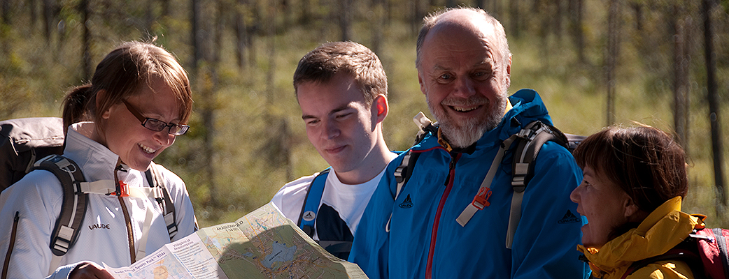 The Ylläs fell offers great outdoor recreation trails both for those who like day hikes and those who love long treks.