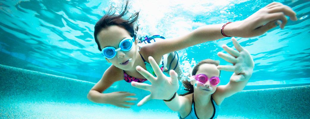 Kids Love Splashing In The Pool!