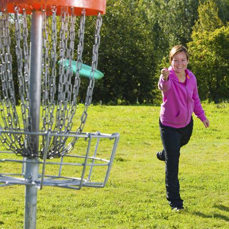 Фрисби-гольф