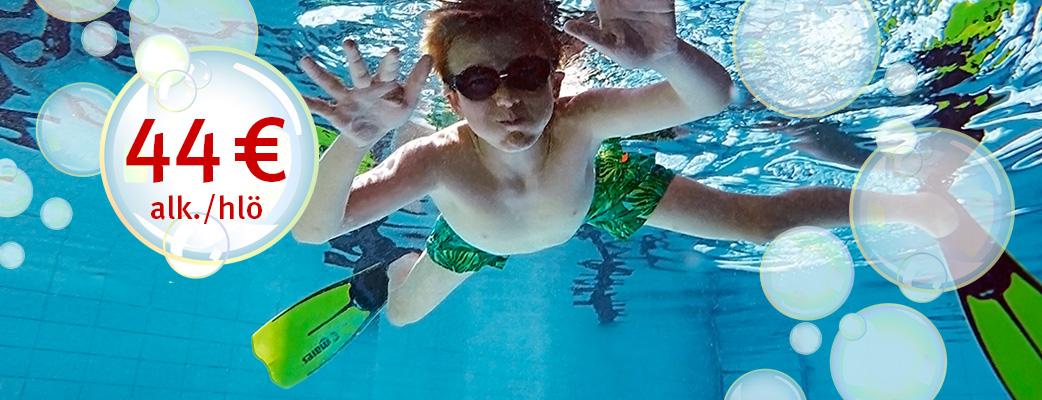 Tartu kylpylätarjoukseen ja sukella kesään!