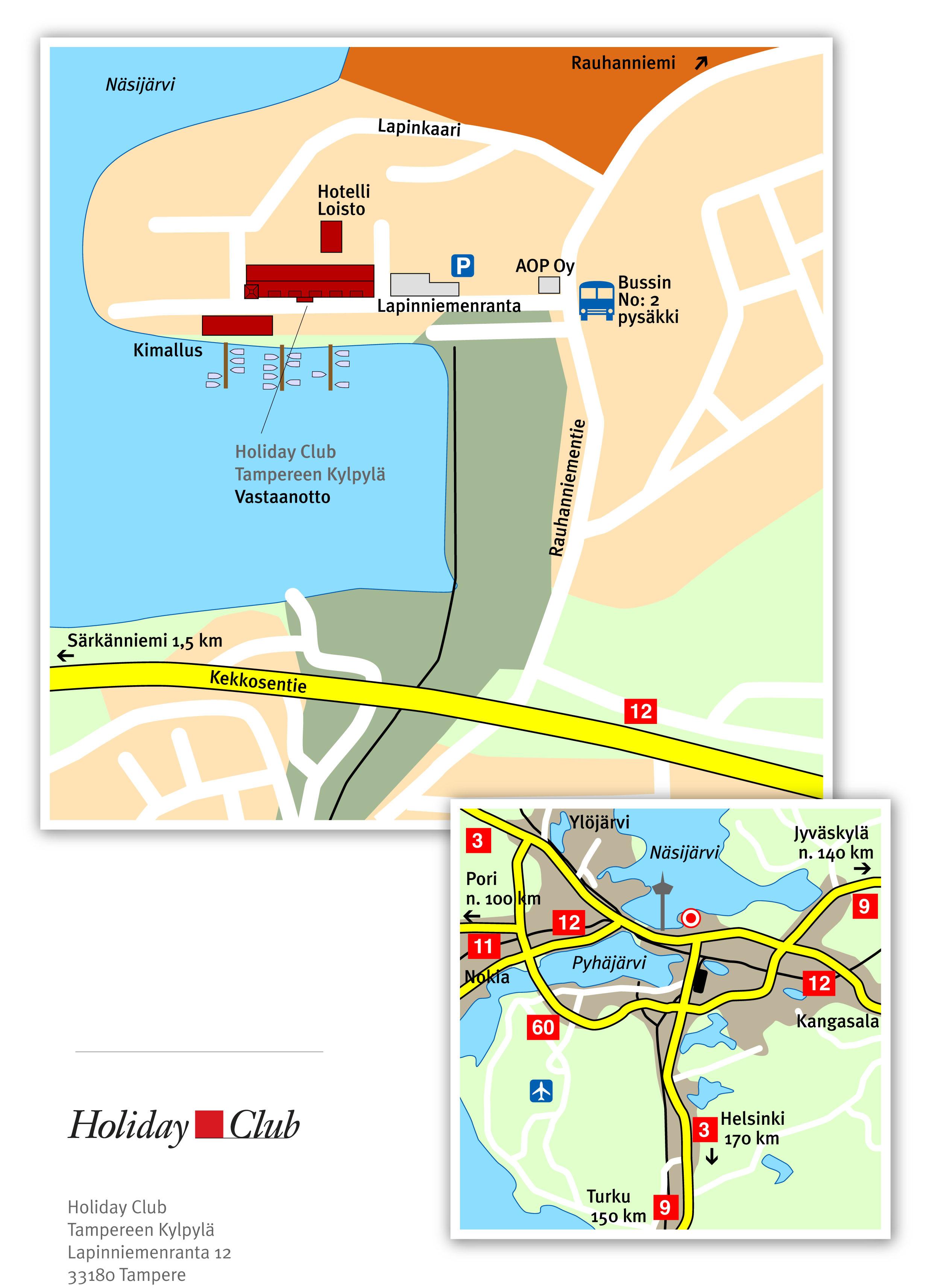 Ministudio Holiday Club Tampereen Kylpyl