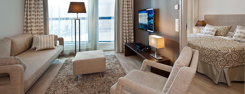 Saimaa Villas 1 - спокойный и стильный интерьер.
